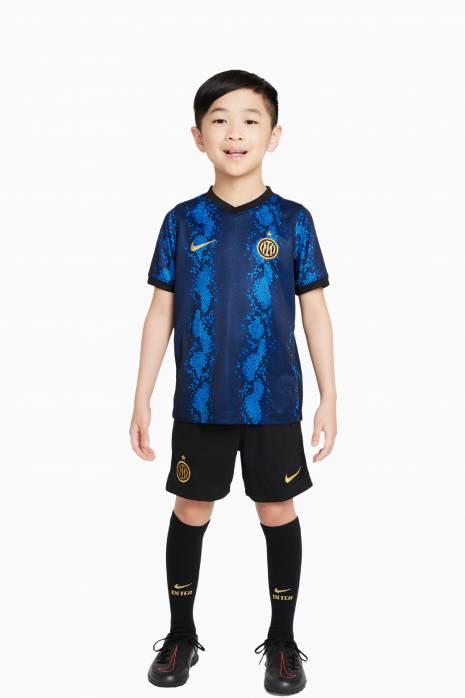 Komplet Nike Inter Mediolan 21/22 Domowy Breathe Małe dzieci