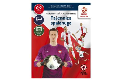 Książka z płytą DVD Praktyczne porady dla młodych piłkarzy - Tajemnica spalonego