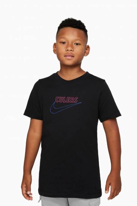Tričko Nike FC Barcelona 21/22 Swoosh Club Tee Junior