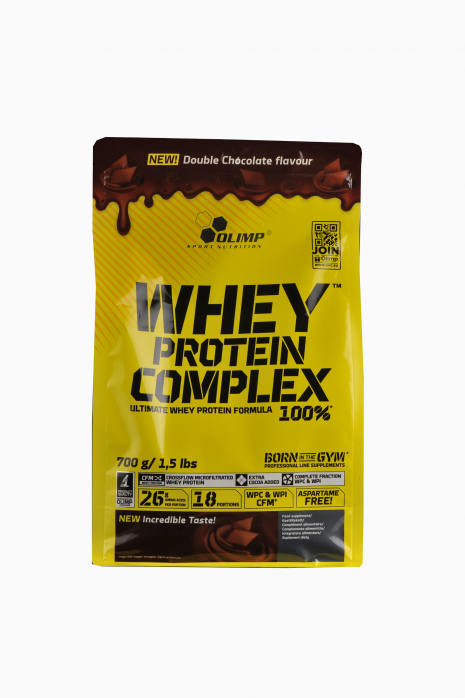 Białko Olimp Whey Protein Complex 100% 700g podwójna czekolada