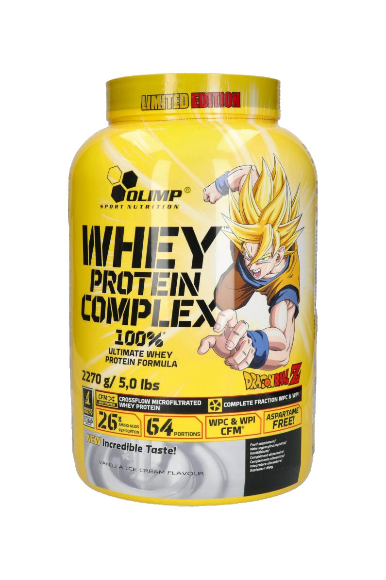 Olimp Whey Protein Complex 100 70g Vanilla Ice Cream Limited Edition Dragon Ball R Gol Com Football Boots Equipment