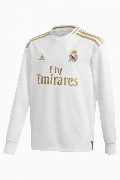 Tričko adidas Real Madrid 19/20 domácí LS Junior