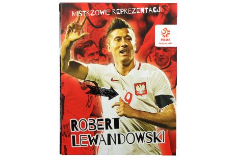 Książka - Mistrzowie reprezentacji Robert Lewandowski