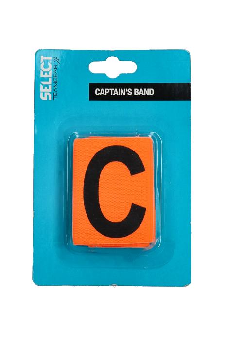 Kapitánská páska Select oranžová