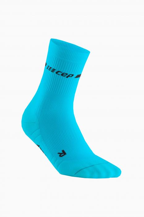 Kompresné ponožky CEP neon mid cut