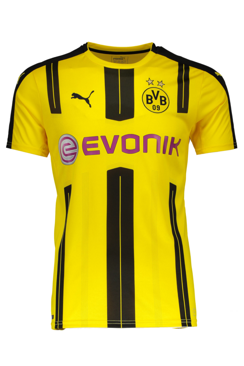 Football Shirt Puma Borussia Dortmund 2016 17 Home R Gol Com Football Boots Equipment