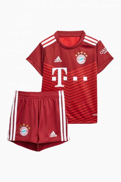 Futbalová adidas FC Bayern 21/22 Home Baby Kit