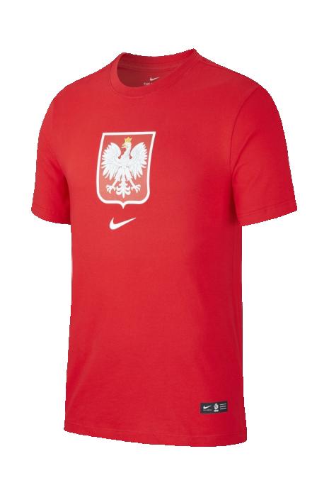 Koszulka Nike Polska Tee Evergreen Crest Junior