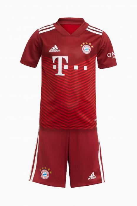 Nastaviť adidas FC Bayern 21/22 Domáci Mini