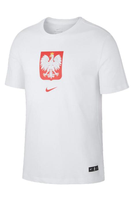 Koszulka Nike Polska Tee Evergreen Crest