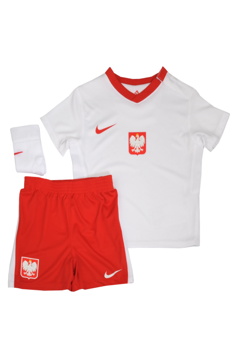 Komplet Nike Polska Breathe Domowy Infant