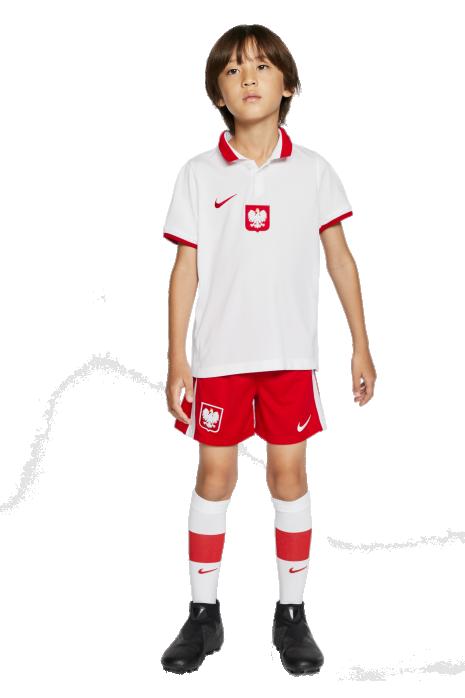 Komplet Nike Polska Breathe Kit Domowy Małe Dzieci