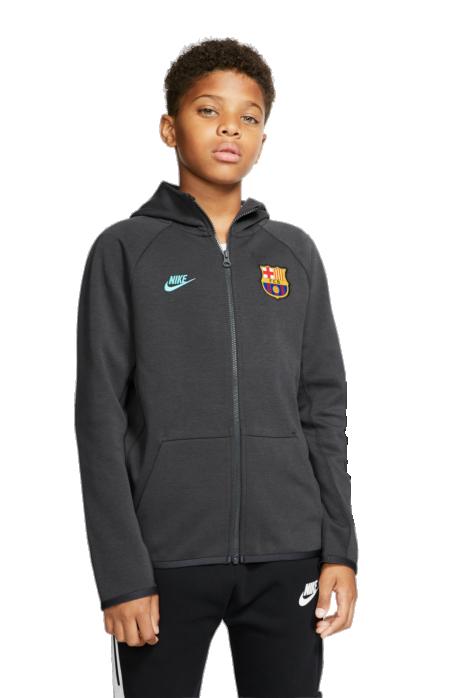 Mikina Nike FC Barcelona Tech Fleece Essentials Junior