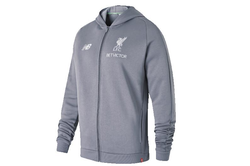 Jacket New Balance Liverpool Fc Elite Leisure Hoody R Gol Com Football Boots Equipment