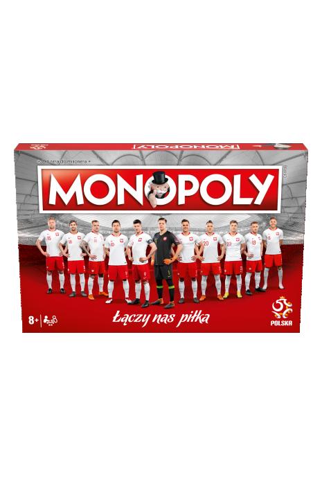 Gra Monopoly reprezentacji Polski Łączy Nas Piłka
