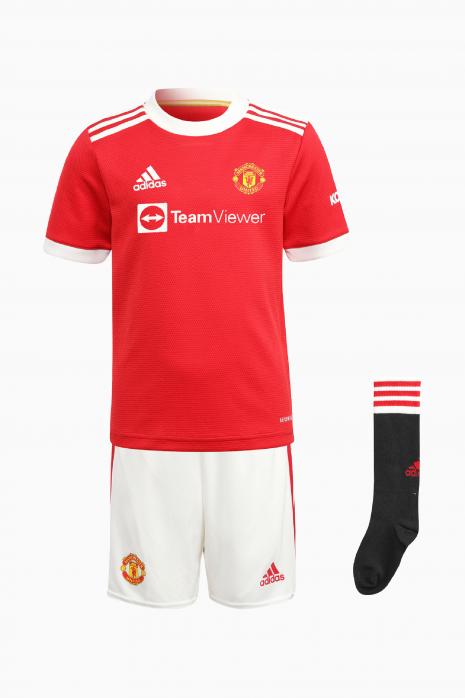 Komplet adidas Manchester United 21/22 Domáci Mini
