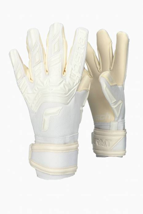 Brankárske rukavice Reusch Attrakt Freegel Totalwhite Gold