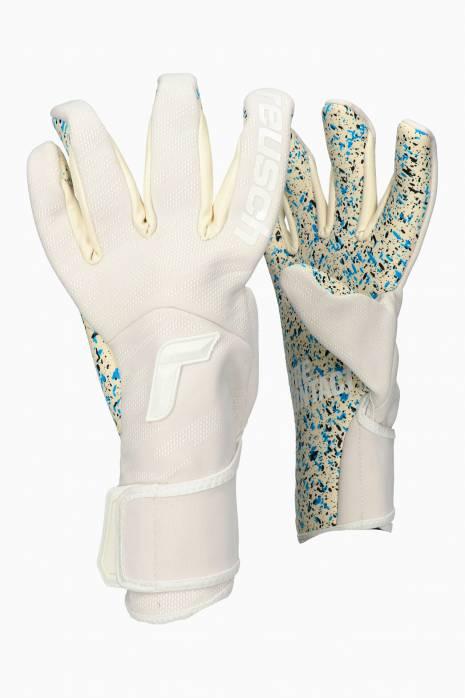 Brankárske rukavice Reusch Pure Contact Totalwhite Fusion