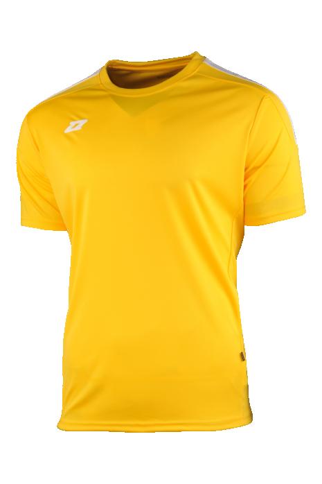 Tričko Zina Ferrara Yellow/White Junior
