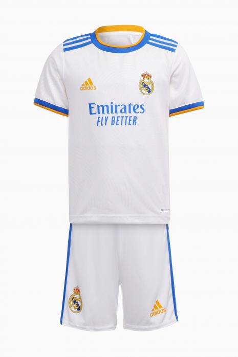 Nastaviť adidas Real Madrid 21/22 Domáci Mini