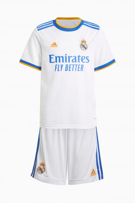 Futbalová adidas Real Madrid 2021/22 Home Kit Junior