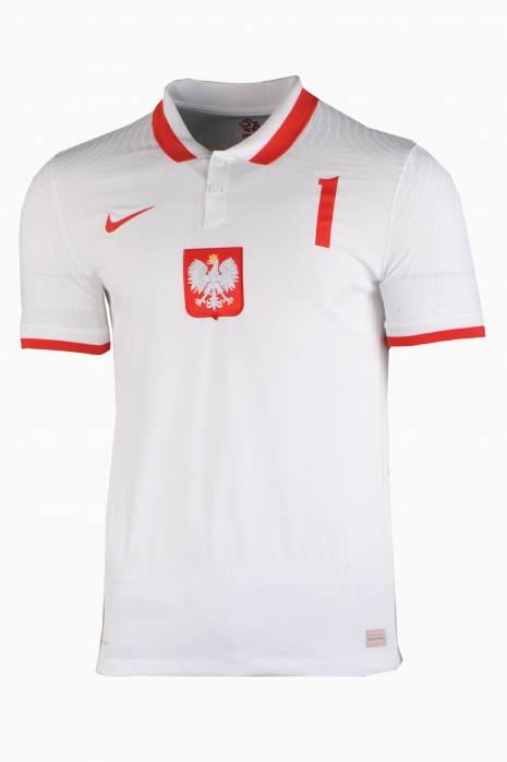 Koszulka Nike Polska Vapor Match 2020 Domowa SZCZĘSNY