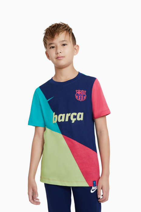 Tricou Nike FC Barcelona Tee Ignite Junior