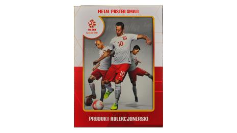 Plakat metalowy reprezentacji Polski Krychowiak Small