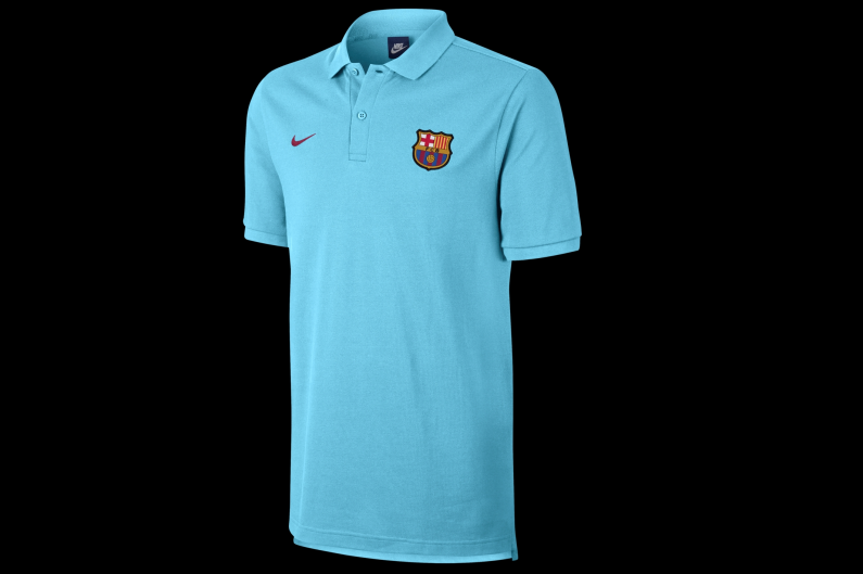 carpintero Productividad Refrigerar  Sweatshirt Nike FC Barcelona NSW Polo 886781-485   R-GOL.com - Football  boots & equipment