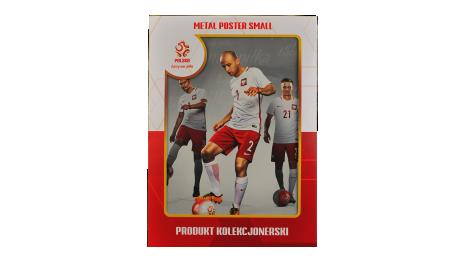 Plakat metalowy reprezentacji Polski Pazdan  Small