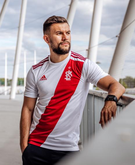 Koszulka adidas ŁKS Łódź Replika Domowa 2020/21