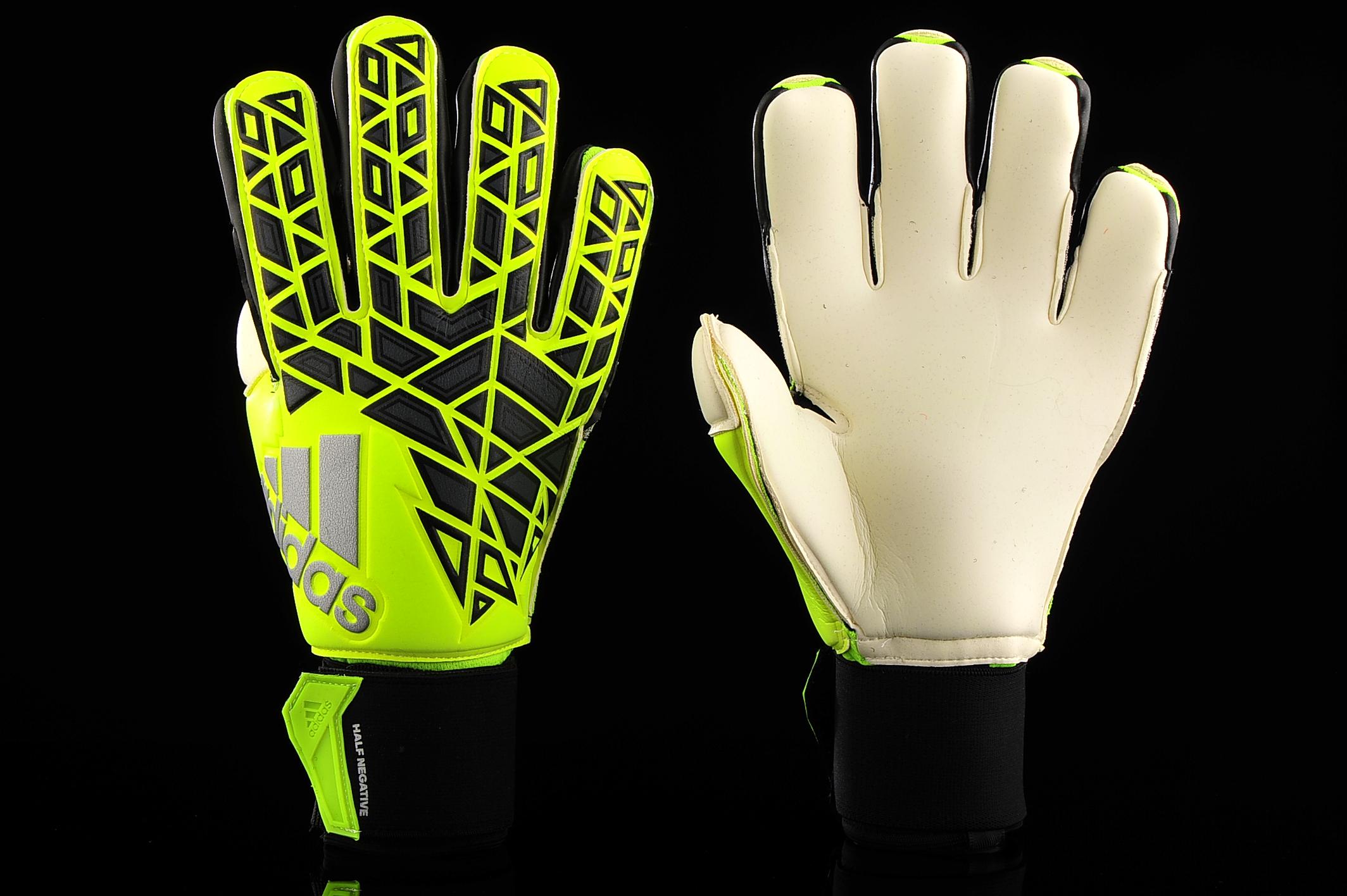 Hacia atrás Talla cola  Goalkeeper Gloves adidas Ace Half Negative AP6997   R-GOL.com - Football  boots & equipment
