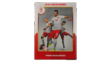 Plakat metalowy reprezentacji Polski Krychowiak Medium