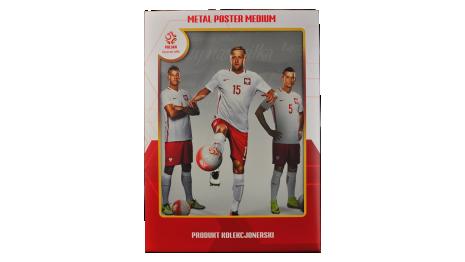 Plakat metalowy reprezentacji Polski Glik Medium