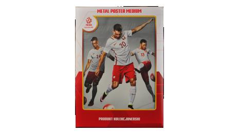 Plakat metalowy reprezentacji Polski Piszczek Medium