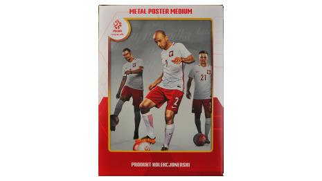 Plakat metalowy reprezentacji Polski Pazdan Medium