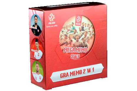 Gra reprezentacji Polski Memo 2 w 1