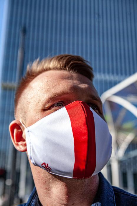 Maska ŁKS Łódź