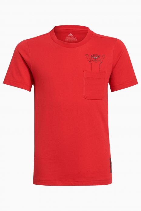 Tričko adidas Manchester United 21/22 Tee Junior