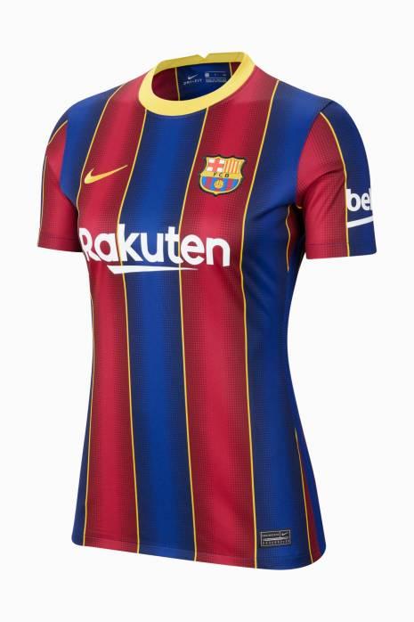 Tričko Nike FC Barcelona 20/21 Home Breathe Stadium Dámske