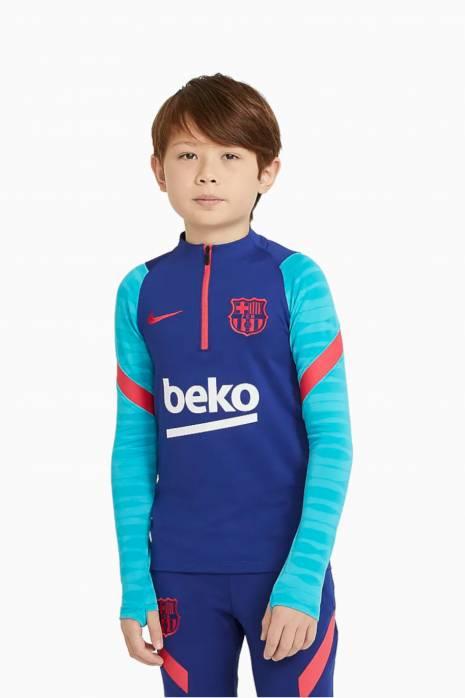 Mikina Nike FC Barcelona 20/21 Dry Strike Dril Top Junior