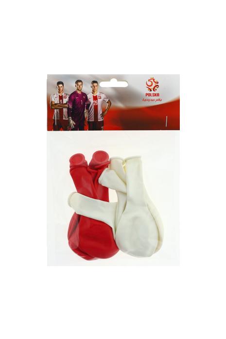 echipa națională a Poloniei baloane roșii și albe 10 buc.