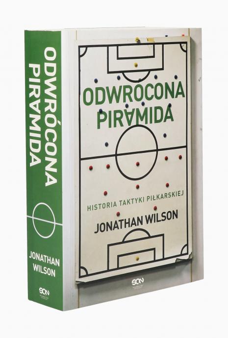 Książka Odwrócona piramida. Historia taktyki piłkarskiej.