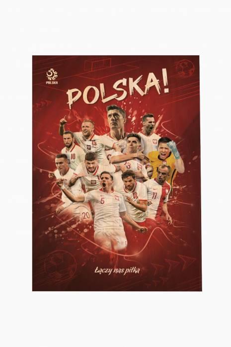 Plakat reprezentacji Polski 70x100 cm