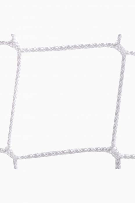 Síť na branku Sportpoland 3x2 m, PP 4 mm, 80/100 cm