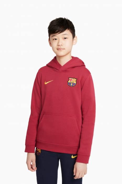 Mikina Nike FC Barcelona 21/22 NSW Hoodie Club Junior