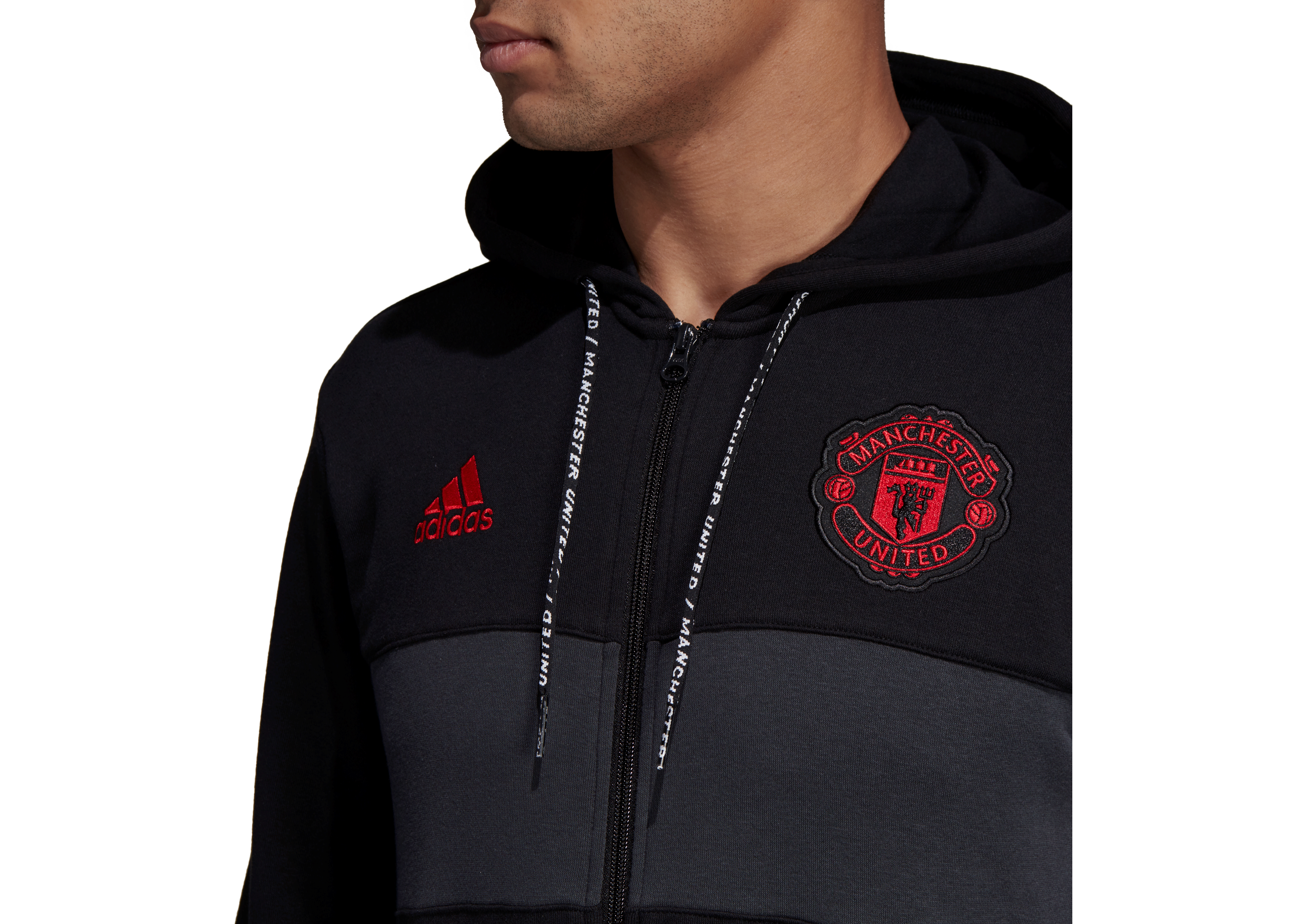 Templado despreciar cámara  Sweatshirt adidas Manchester United Full Zip Hoody DP2323   R-GOL.com -  Football boots & equipment