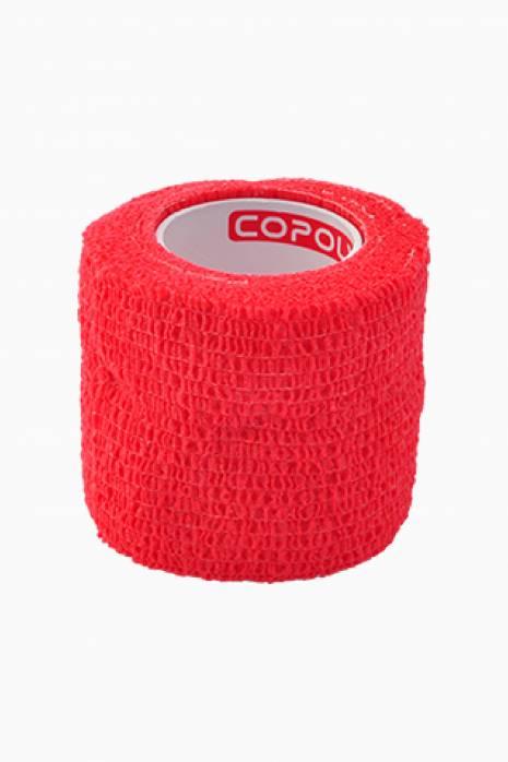 Taśma do getr Copoly 5cm x 4,5m czerwona