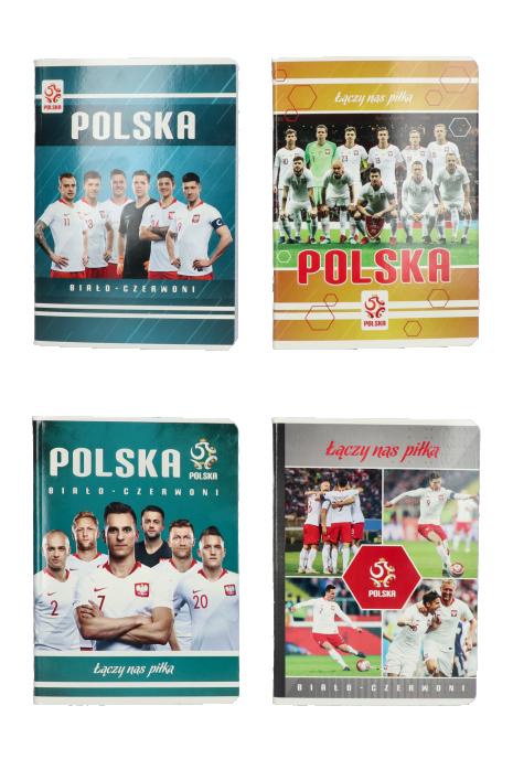 Zeszyt A5 60 kartek reprezentacji Polski