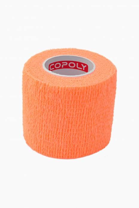 Taśma do getr Copoly 5cm x 4,5m pomarańczowa